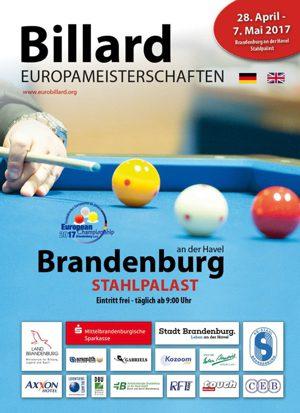 26.04.2017 – BRANDENBURG 2017 : 10 JOURS DE COMPETITION SUR 20 TABLES