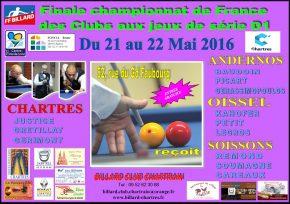 19.05.2016 – FINALE DU CHAMPIONNAT DE FRANCE A CHARTRES