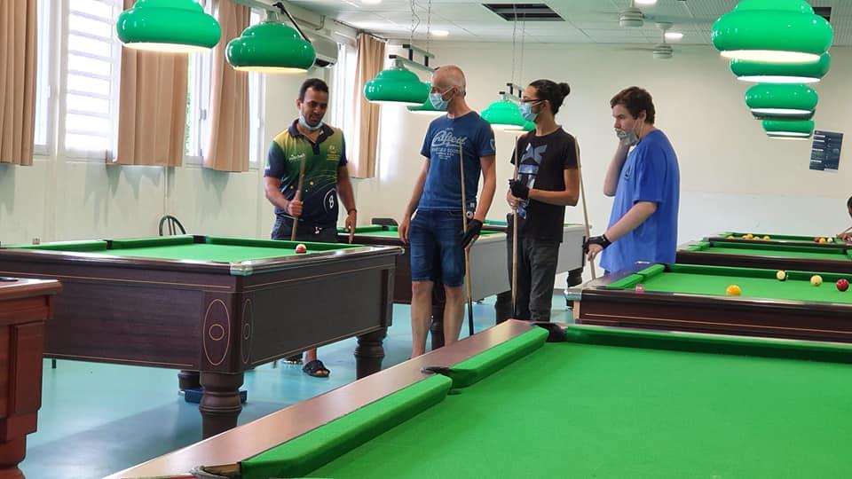 Ile de la Réunion – Saint-Louis – ABSP Académie de Billard de Saint-Pierre – 8 Pool